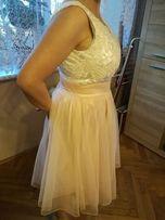 Piękna sukienka na wesele