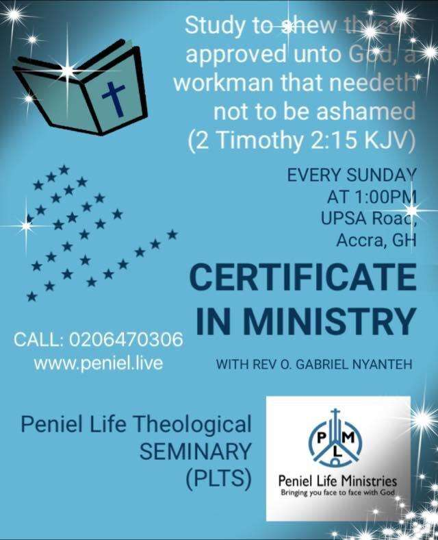 Certificate in Ministry 0