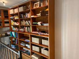 Wooden Bookshlf/library storage for sale