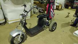 One seater golf cart