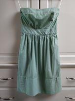Sukienka w paseczki, XS, Zara Basic