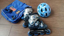 Роликовые коньки + шлем