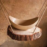 Дизайнерский умывальник из искусственного камня (ручная работа)