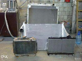 СТО. Ремонт автопечки, радиатора, глушителя, заправка кондиционера.