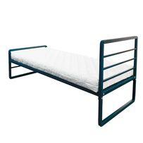 Кровать металлическая односпальная Хайтек