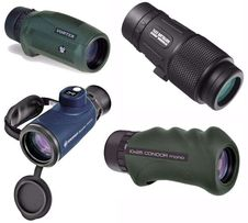 Монокуляры Vortex, Alpen Optics, Bresser, Bushnell, Hawke