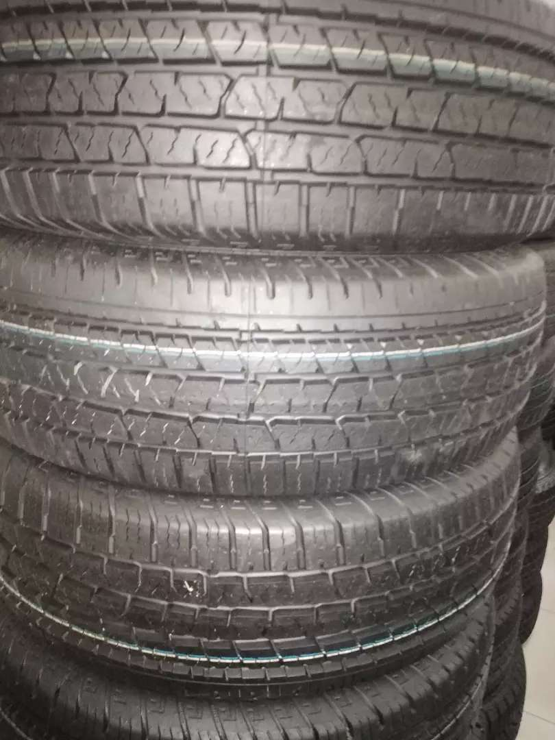 255/70/16 Continental cross contact tyres for r6000.
