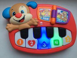 Музыкальная игрушка пианино fisher price