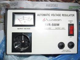 Стабилизатор напряжения LUXEON AVR-500W для бытовой техники.