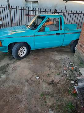Bakkie with a cannopy