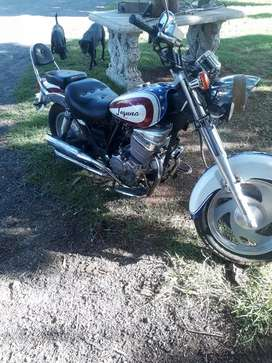 250cc Jon way 2 cylinder Harley replica