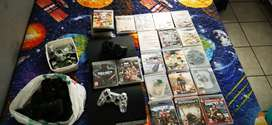 Ps3 + 27 games + Spares