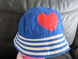 kapelusik dla dziwczynki na lato 2-3 lat