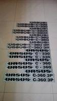 NAKLEJKI URSUS C-330 C-330M C-360 C-360-P