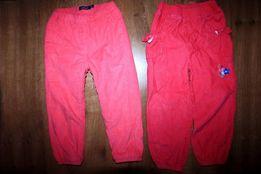Spodnie sztruksowe 2 pary, rozmiar 98cm (2-3lata)
