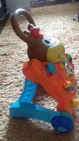 Толкатель-столик Пони 3 в 1 BabyBaby