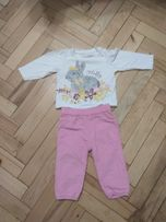 Комплект кофта+штанишки на девочку 74-80 см