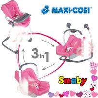 БЕСПЛ.ДОСТАВКА Крісло переноска для куклы Smoby MAXI COSI 3 в 1 240226