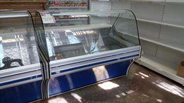 Витрины холодильные, лари морозильные - аренда