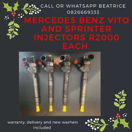 Mercedes Benz Vito Injectors and Sprinter