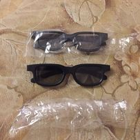 Очки 3D. Использовались один раз. В наличии 2 шт. Цена за все.