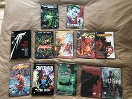 12 DC Comic books