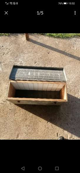 3 x Galvanized tool boxes for sale