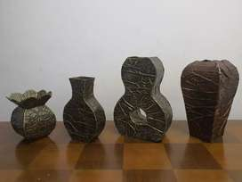 Beautiful handmade vases