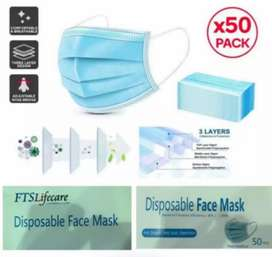 3ply Mask blue