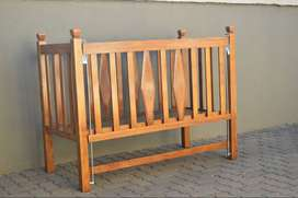 Baby Cot, crib and Baby Chair