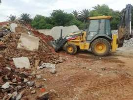 TLB MACHINE HIRE / RUBBLE REMOVER