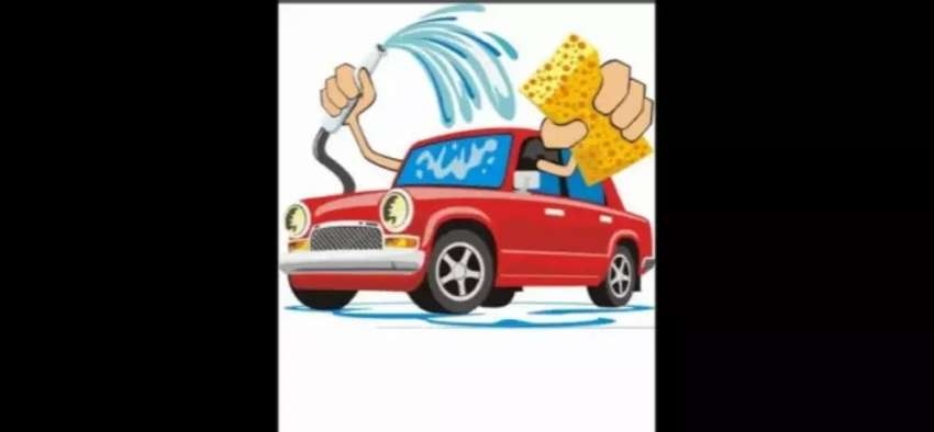 Sit back and relax while I wash your car ill come to you. 0