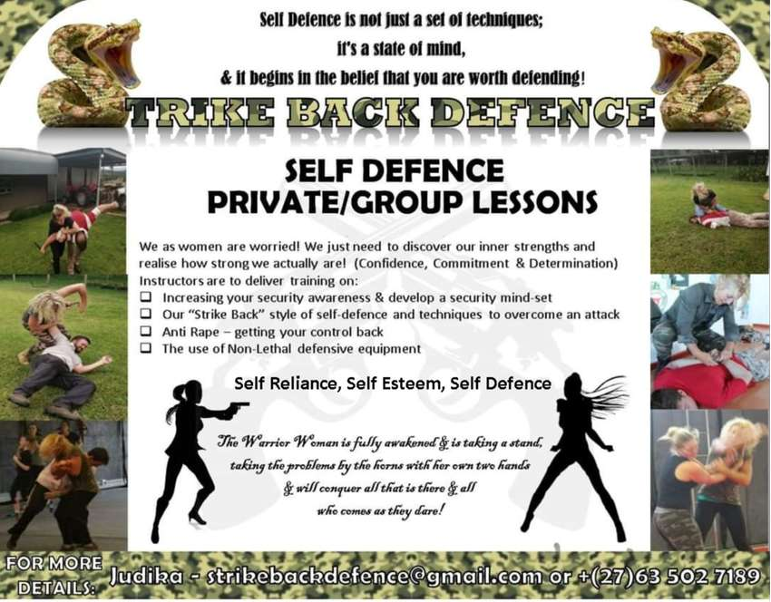 STRIKE BACK DEFENCE - Real Powerful Self-Defence training