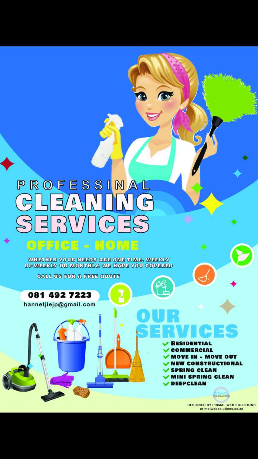 Professional cleaning services 0