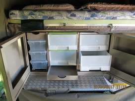 Camping trailer for sale.
