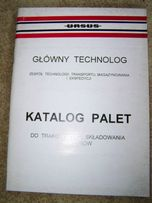 Ursus katalog palet oryginał