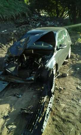 Car is accident damageg and price is negotiable