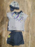 Летний костюм на мальчика 68-74 см, 7-9 месяцев Смил Smil