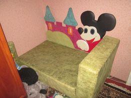 Детский диван -трансформер Микки-Маус