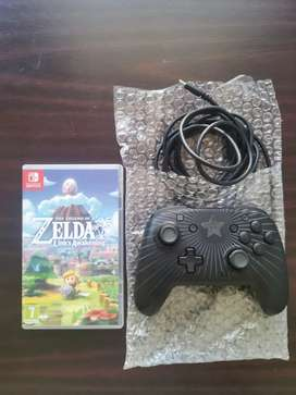Nintendo switch game & controller