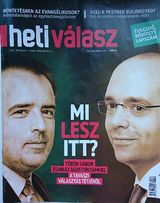 Журнал на венгерском Heti valasz