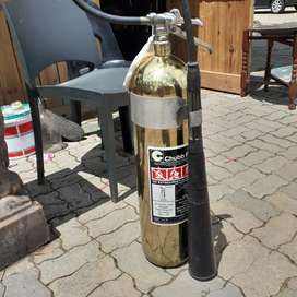 One of a kind fire extinguisher