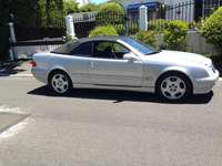 Image of 2002 MERCEDES BENZ CLK 430 automatic convertable