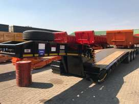 New PR trailers hydraulic neck low beds