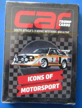 Trump Cards - Icons of Motorsport
