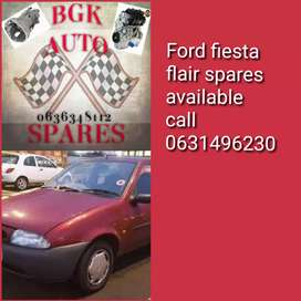 Ford fiesta flair spare parts available