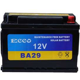 29AH ECCO SOLAR BATTERY