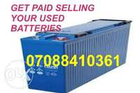Sell your Old inverter Battery Agege Lagos 0