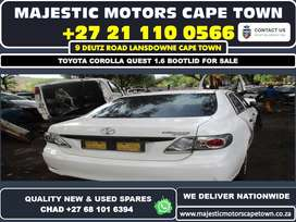 Toyota Corolla 1.6 bootlid for sale