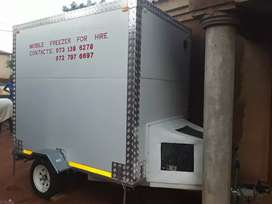 Mobile fridge only used twice on one day events. excellent condition.